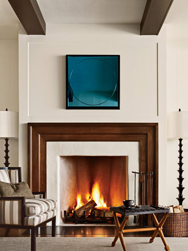 For ventless logs replacement gas fireplace