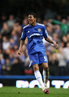 patrick van aanholt during chelsea vs aston villa