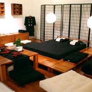 Mil ideias de decora o quartos de casal em estilo japon s for Mesa japonesa tradicional