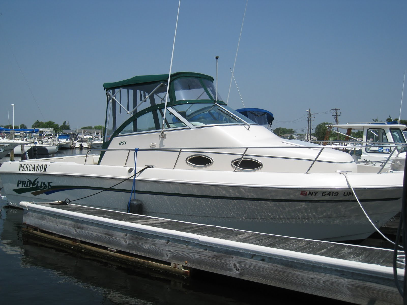 Coast To Coast Sirius Xm >> 1997 Proline 251 Walkaround (27ft) - $15000 (Babyl: 1997 ...