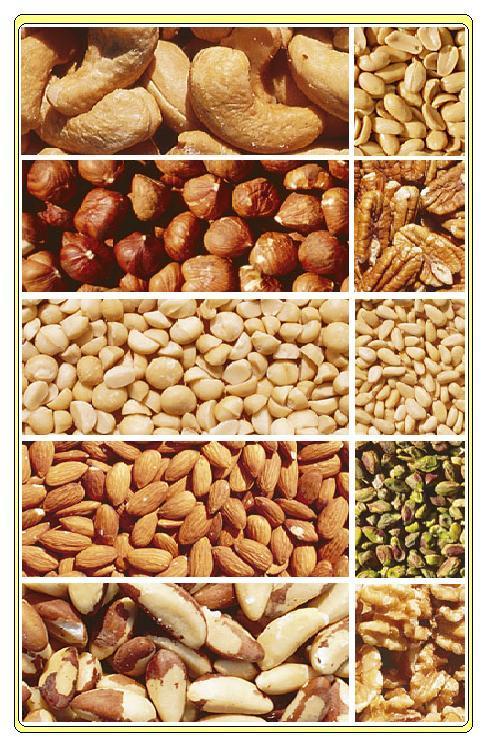 lista på nötter