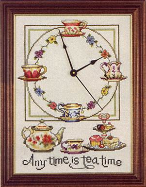 How to Design a clock face using cross-stitch « Sewing & Embroidery
