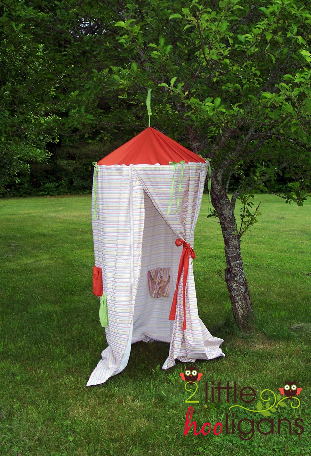 Diy Play Tent The Girl Creative