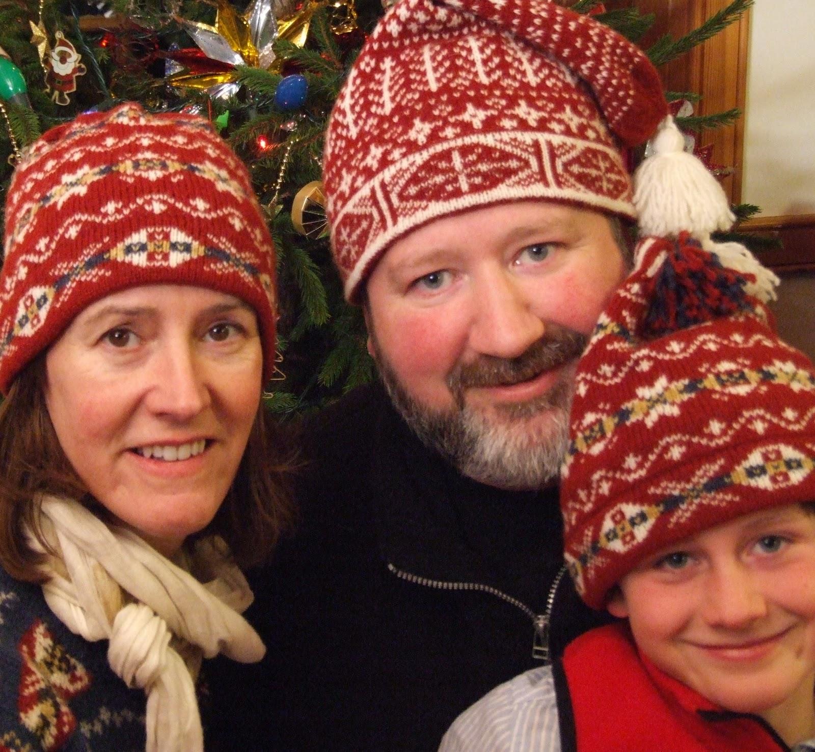 Fair Isle: Fair Isle Knitwear for Christmas... Santa wears Fair Isle?