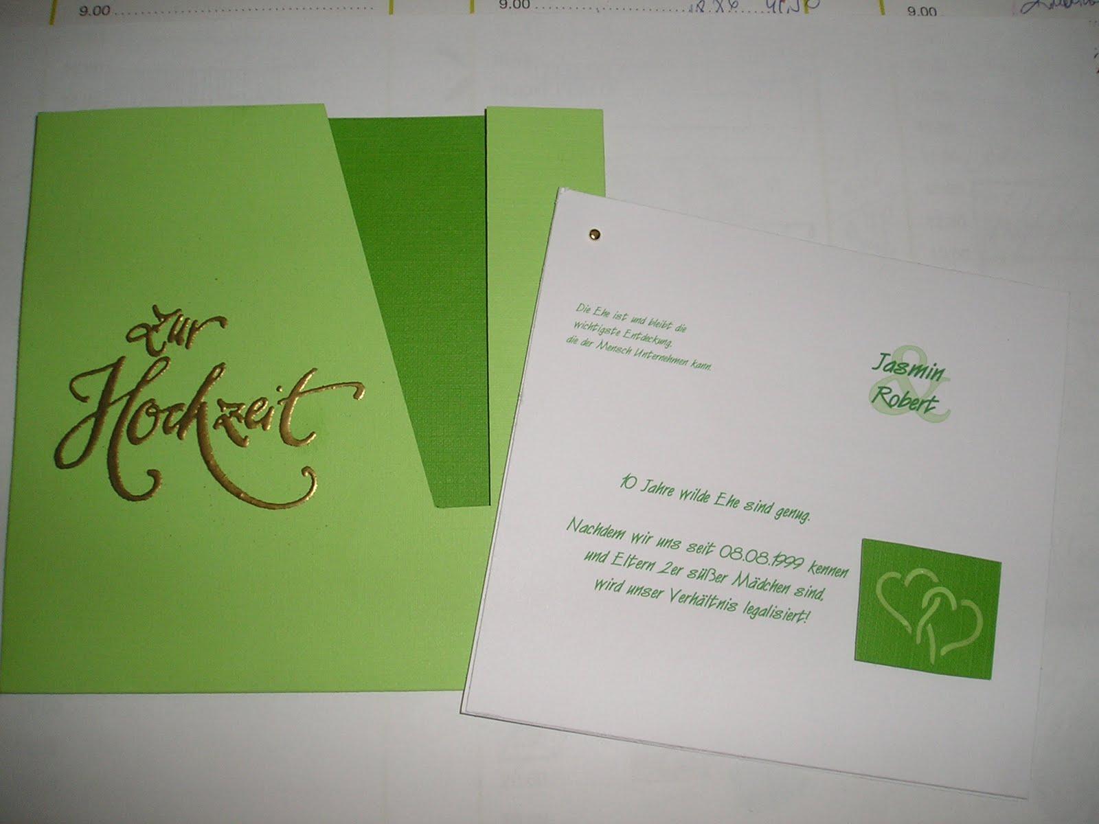 Der Wunsch Alles In Grün/weiß! Von Den Einladungen, Der Kerze, Der  Tischdekoration Bis über Zu Den Dankesschreiben!
