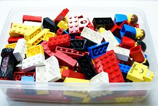 LEGO: 古いLEGOを発掘した