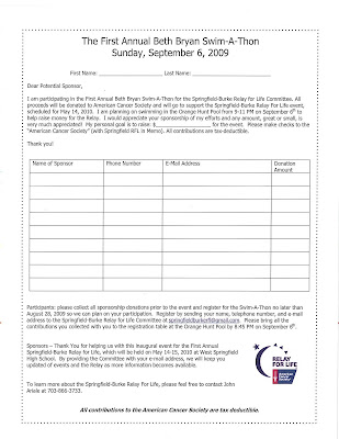 pledge forms template