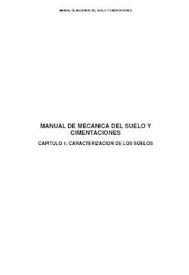 Manual de Mecánica de Suelos y Cimentaciones