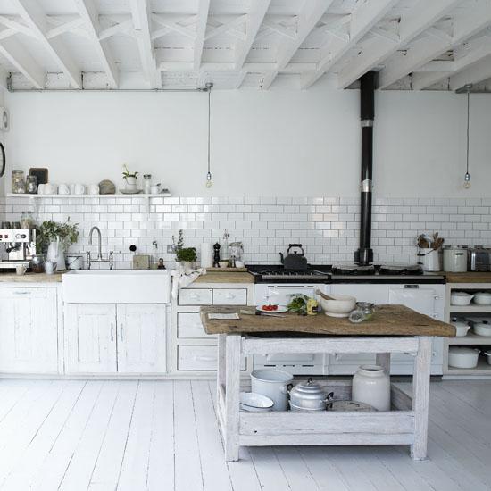 Industrial Rustic Kitchen : inspired kitchen - rustic meets industrial