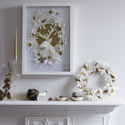 holiday paper crafts decor