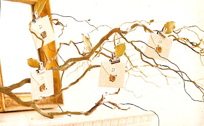 natural twig advent calendar