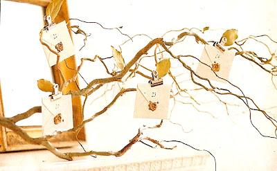 natural twig advent calendar