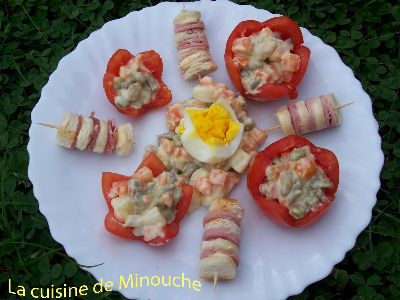 La cuisine de minouche ao t 2010 for Petite entree sympa