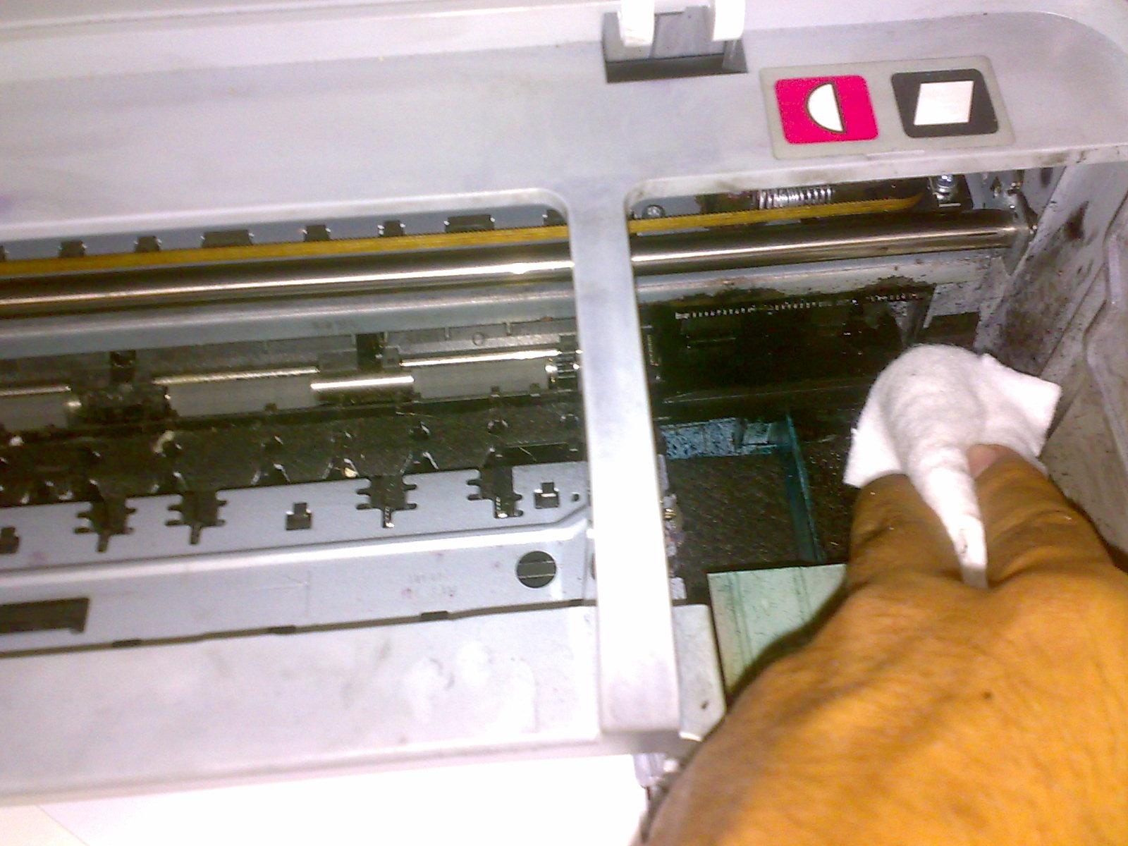 Cara Memperbaiki Print Head Tersumbat, Macet Karena Tinta Mengering