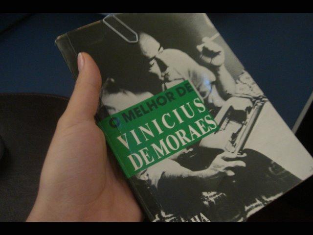 LIVRO: O melhor de Vinicius de Moraes