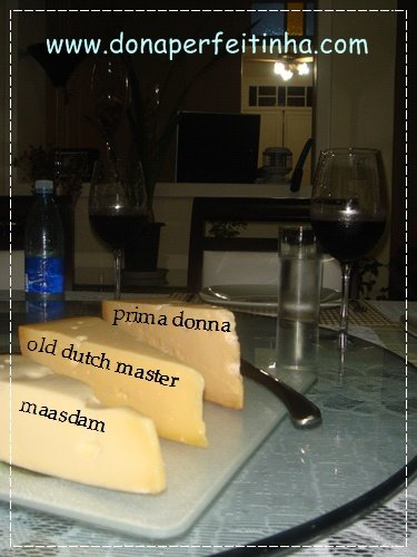 Meus queijos favoritos e um bom vinho