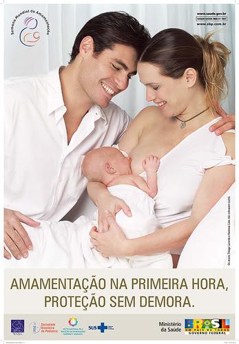 Amamentação: leite materno é a 'única' escolha!
