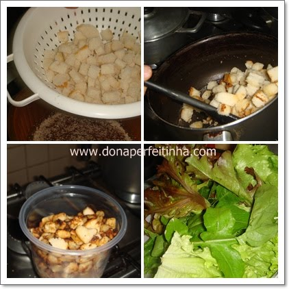 Crouton para Ceasar Salad