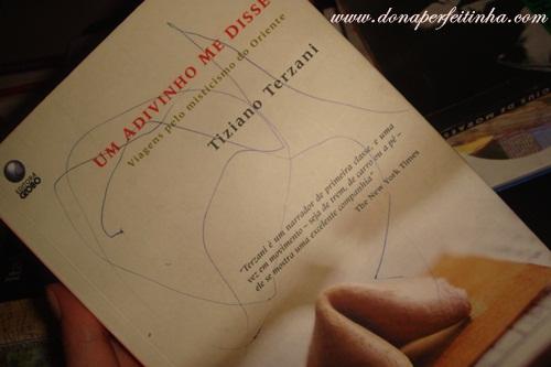 Um adivinho me disse - de Tiziano Terzani: LIVRO