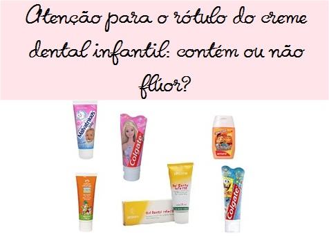 Crianças podem usar creme dental comum (com flúor)?