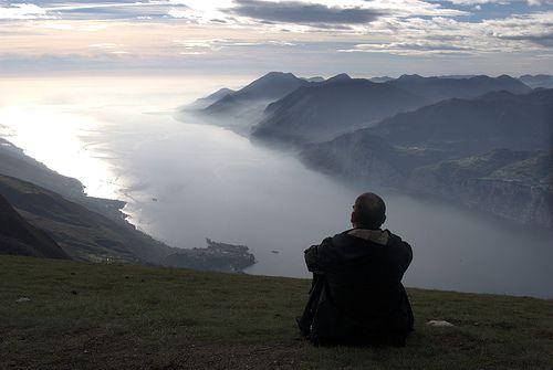 Lago de Garda desde el Monte Baldo
