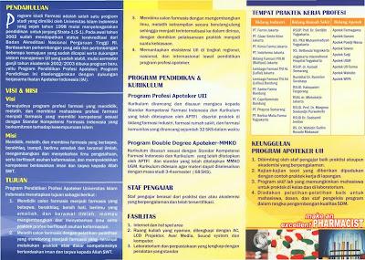 contoh desain brosur universitas menarik
