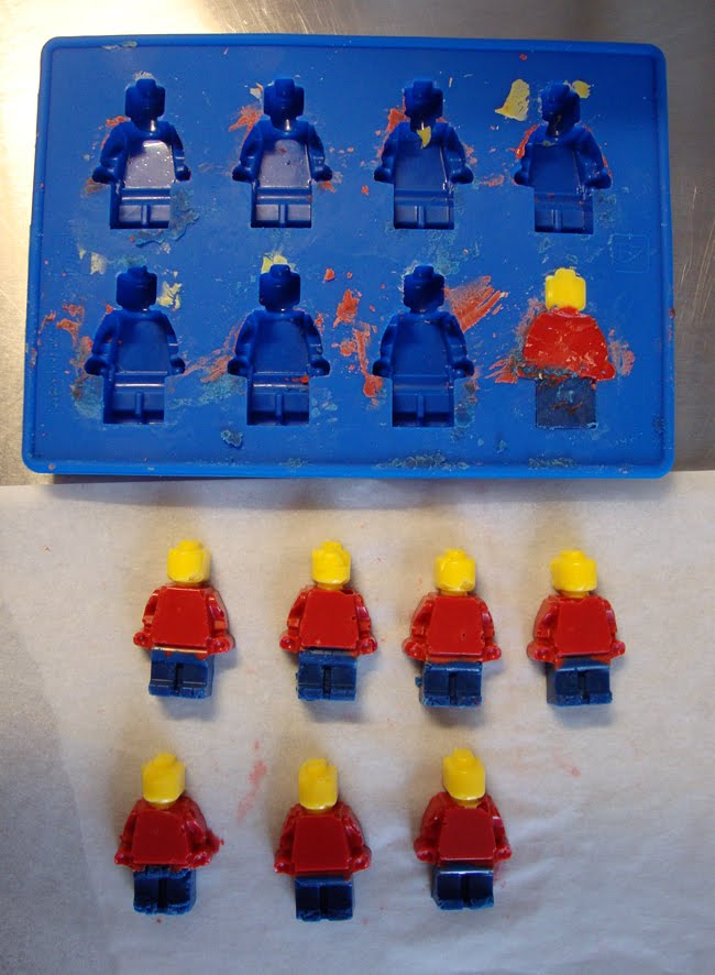 Lego Mini Figure Cake Pan Mold