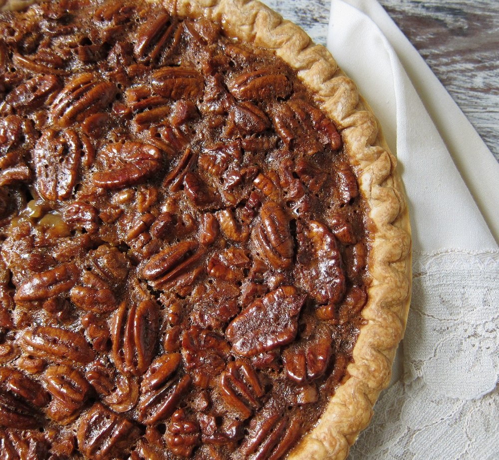 last call for corn: our new favorite pecan pie