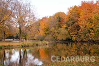 Outdoor-Wednesday autumn Jeanne-Selep Cedarburg Wisconsin card design