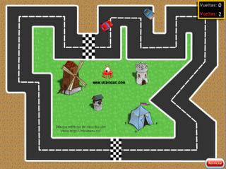 un juego de coches