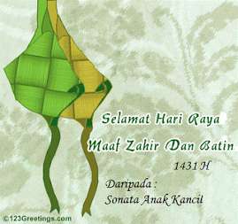 Cool Raya card from sonata Anak Kancil