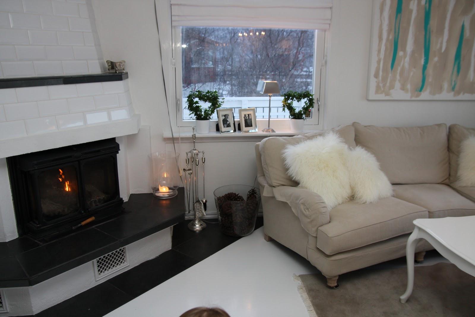 Hvitstil.com: stuen er ferdig :)