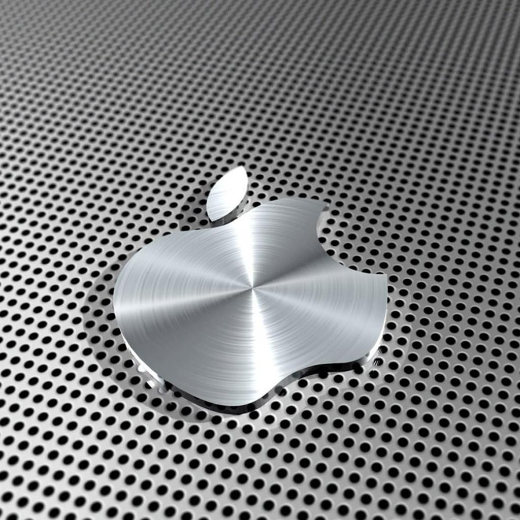 Technology Free Wallpapers005 Apple Silver