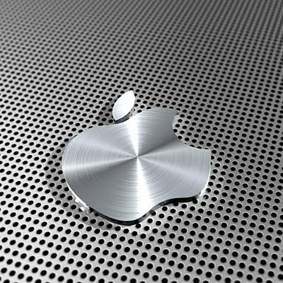 Apple silver download free wallpapers for Apple iPad