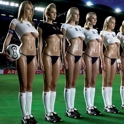 Sexy football girls download free wallpapers for Apple iPad