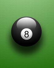 Biljarska crna kugla, broj 8 download besplatne slike pozadine za mobitele