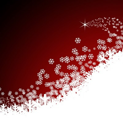 Snowflakes for Christmas download free e-cards wallpapers for Apple iPad