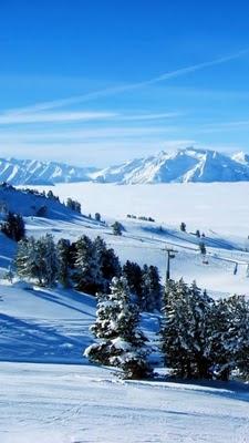 download besplatne pozadine slike za mobitele zima snijeg planine