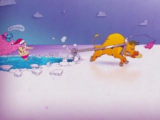 Smiješne Božićne slike besplatne pozadine za mobitele download