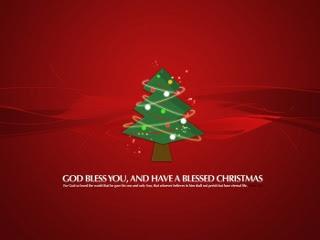 Blagoslovljen Božić, Božićna čestitka download besplatne pozadine slike za mobitele
