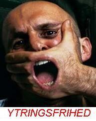 Man binder os på mund og hånd