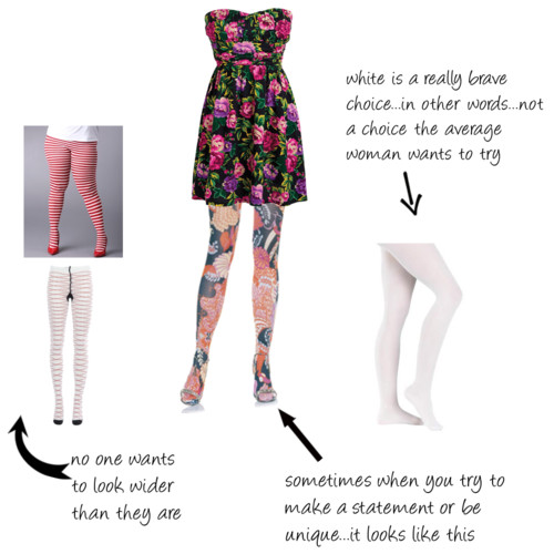 patterned tights for women. crazy pattern dress and tights