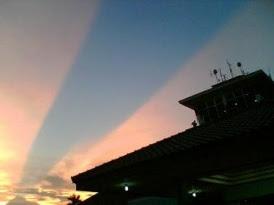 Langit Terbelah di Yogyakarta mneghebohkan masyarakat