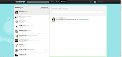 Nuevo Twitter - Mensajes
