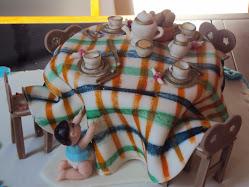 Topo de bolo para chá de bebe