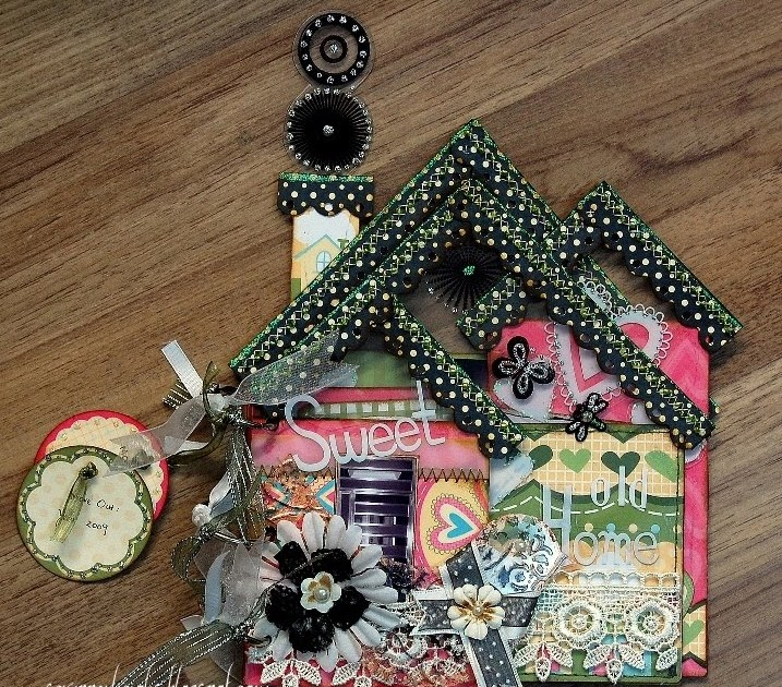 Scrapperlicious sweet old home mini album for Classic house albums