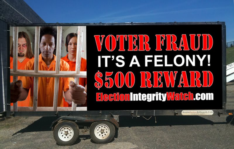 Voter Fraud Reward
