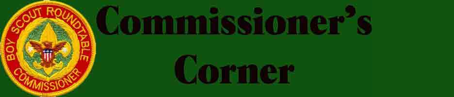 Commissioners Corner