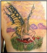 fairy tattoos design
