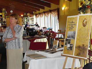Yolande Gingras au lancement du livre Vielles maisons, vielles gens